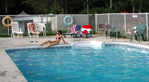 Woodhaven RV Park - Heated In-Ground Pool